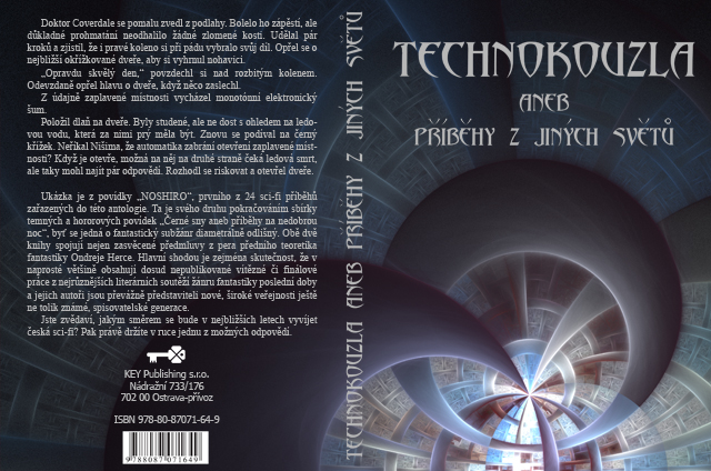 "Book cover and illustrations for ""Technokouzla"""